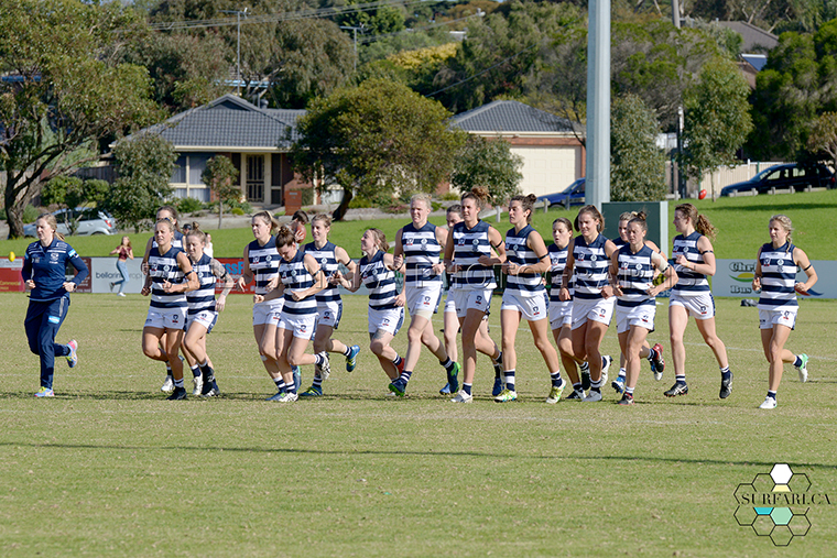 Geelong Cats vs Seaford Tigerettes